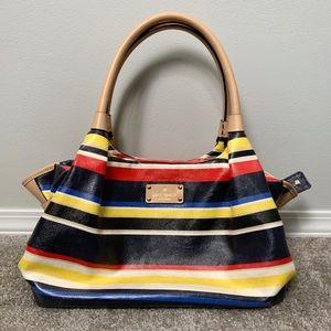 Kate Spade Westchester Striped Bag